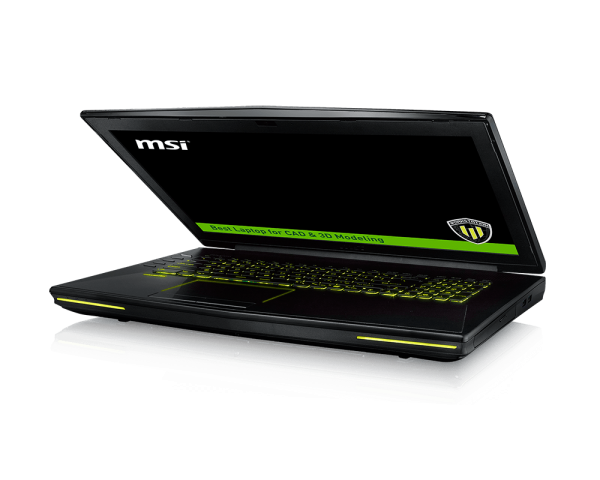"MSI Workstation WT72 6QM - Intel E3-1505M_32GB_256GB SSD_1TB 7k2_Quado M5000M 8GB_17.3"" FHD"