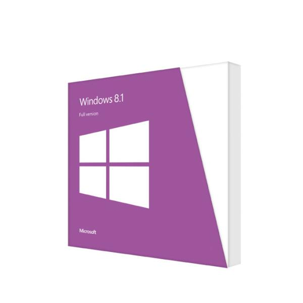 Microsoft Windows 8.1 64-Bit English International 1pk DSP OEM DVD (WN7-00614)