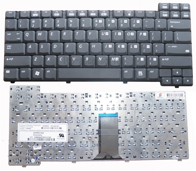 HP-COMPAQ-Keyboard  NC610C