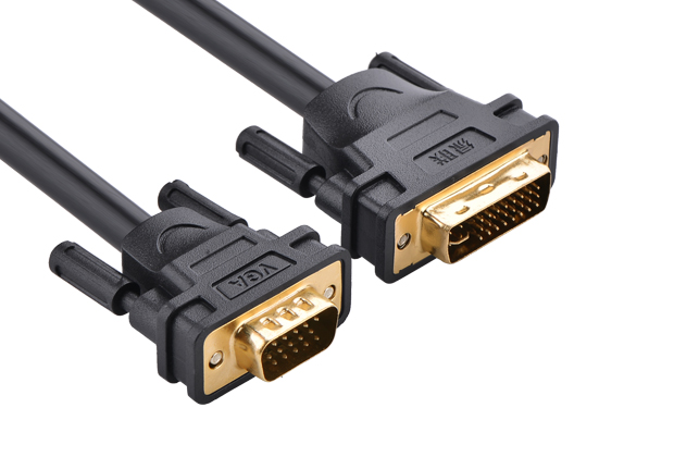 Ugreen DVI(24+5) male to VGA male cable 1M 30741 GK