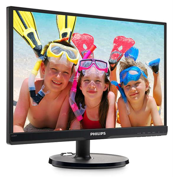 Màn Hình - LCD Philips 226V6QSB6/74 | 21.5 inch Full HD IPS (1920 x 1080) LED Monitor _VGA _DVI-D _1119D