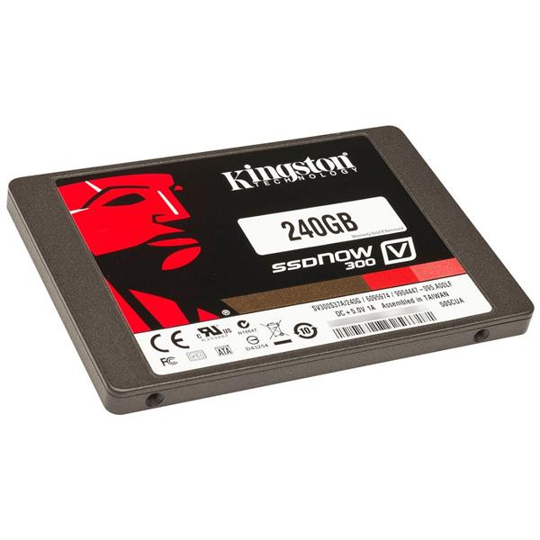 "Kingston SSD Now V300 - 240GB / 2.5"" SATA III - SV300S37A/240G"