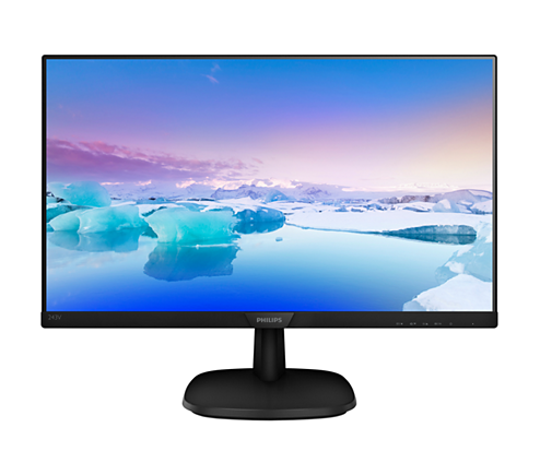 Màn Hình - LCD Philips 243V7QDSB/74 | 23.8 inch Full HD IPS (1920 x 1080) LED Anti Glare _VGA _HDMI _DVI-D _1119D