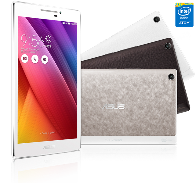 Asus Zenpad Z370CG-1A002A‎ Atom C3230(1.2GHz)_2G_16GB_7Inch_Android 5.0_Black_16042TF