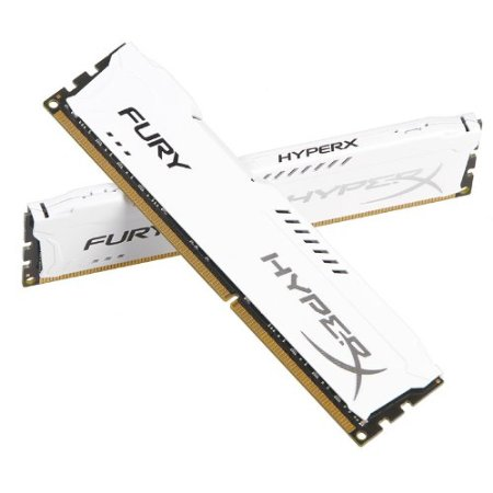 RAM PC Kingston 4G 1600MHZ DDR3 CL10 Dimm HyperX Fury White-HX316C10FW/4