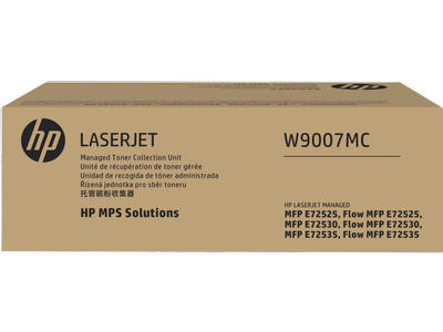 Mực In HP Managed LJ Waste Container W9007MC for LaserJet E725 Series 618EL