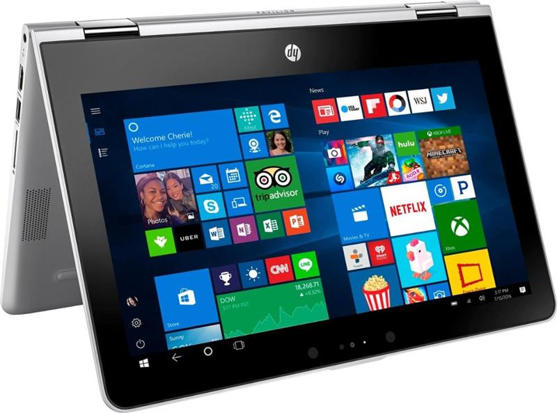 "HP Pavilion x360 11m-ad013dx Intel N4200 _Ram 4GB _HDD 500GB _11.6"" Touchscreen _Win 10_BB"