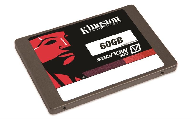 "Kingston SSD Now V300 - 60GB / 2.5"" SATA III -  (V300S37A/60G )"