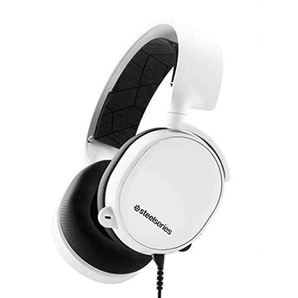 SteelSeries Arctis 3 2019 Edition Gaming Headset White (61506) _919KT
