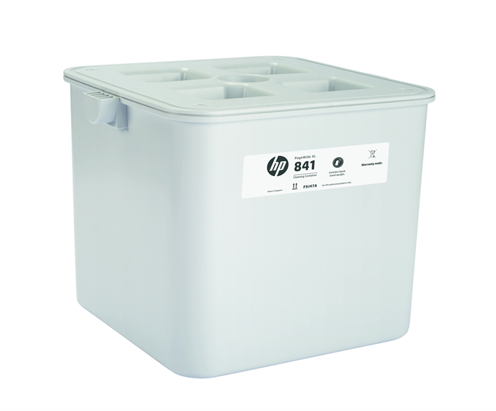 HP 841 PageWide XL Cleaning Container F9J47A 618EL