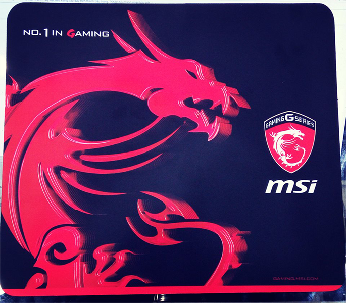 Mouse Pad MSI No.1 Gaming