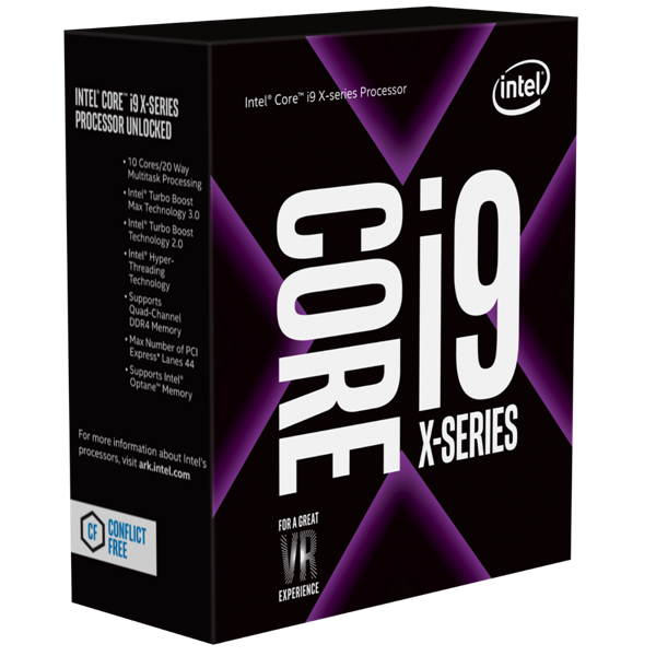 Intel® Core™ i9 _ 7920X X series Processor ( 2.90 GHz, 16.50M Cache, up to 4.30 GHz) 618S