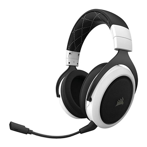 Corsair HS70 WIRELESS Gaming Headset — White (CA-9011177-AP) _1118KT