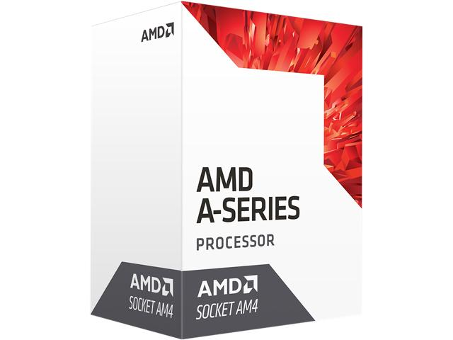 CPU AMD A8 9600 Bristol Ridge (3.1 GHz, Turbo 3.4Ghz, 2MB Cache) Socket AM4 (618ELS)