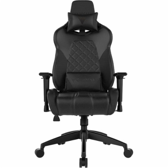 Ghế Gaming GAMDIAS Achilles E1 L Gaming Chair - Black (518EL)