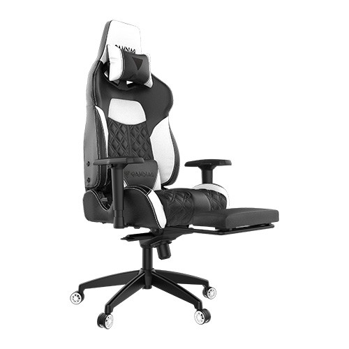 Ghế Gaming GAMDIAS Achilles P1 L Gaming Chair - White (518EL)