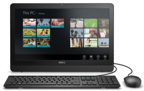 Dell AIO Inspiron 3064 (AIO3064_1) Intel® Core™ i3 _7100U _4GB _1TB _VGA INTEL _19.5 inch (1600 x 900) _5417D