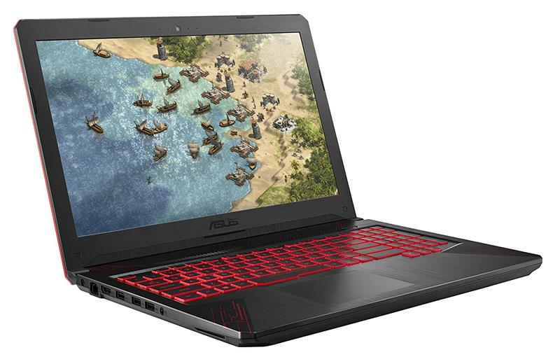 Asus TUF Gaming FX504GD E4177T | Intel® Core™ i5 _8300H _8GB _1TB Hybrid _GeForce® GTX1050 with 2GB GDDR5 _Win 10 _Full HD IPS _LED RED KEY_ 818V