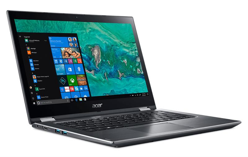 Acer Spin 3 SP314 51 51LE (GZRSV.002) Intel® Core™ i5 _8250U _4GB _256GB SSD _VGA INTEL _Win 10 _Full HD IPS _Multi Touch _Finger _119D
