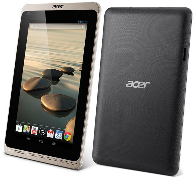 Acer Tablet Iconia B1-720 (L3HSV / L3MSV) CPU MediaTek 8111 DualCore 1,3GHz - 1GB - 8GB - Wifi - 3G