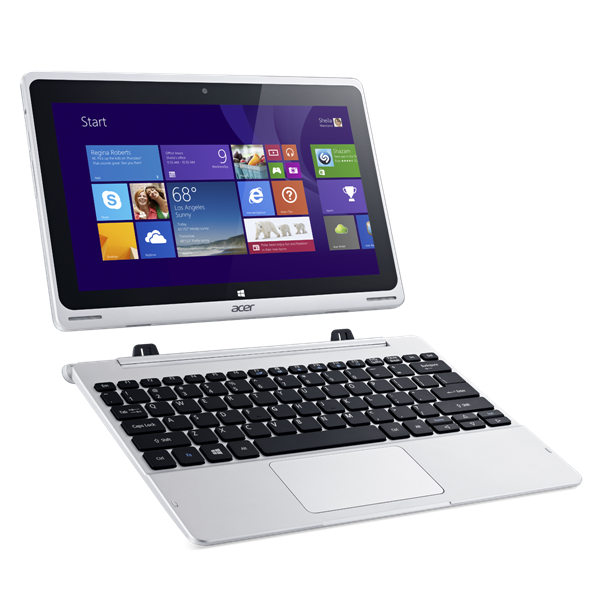 Tablet  & Notebook 2 in 1 Acer Switch 10(NT.L4SSV.001) - Z3735 (1.33GHz) - 2GB - 32GB/500GB - W8.1