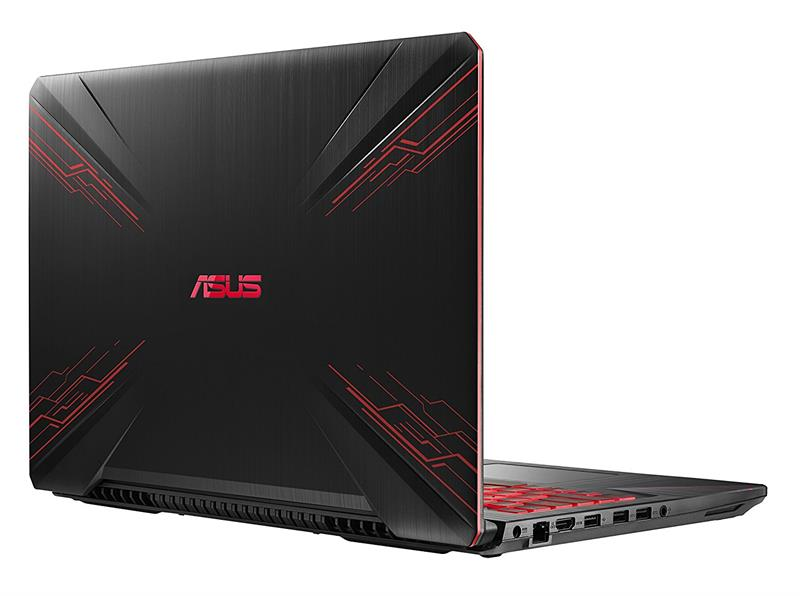 Asus Gaming FX504GE E4196TS2 Intel® Core™ i7 _8750HQ _8GB _1TB Hybrid _256GB SSD _GeForce® GTX1050Ti with 4GB GDDR5 _Win 10 _Full HD IPS _LED RED KEY _618B