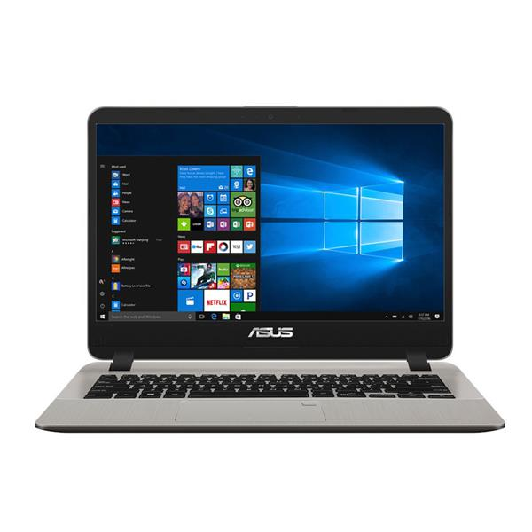 Asus X407UA BV438T Intel® Kaby Lake Core™ i3 _7020U _4GB _256GB SSD _VGA INTEL _Win 10 _Finger _119F