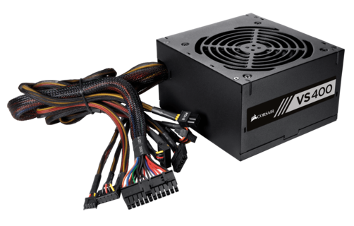 CORSAIR VS400 (CP-9020117-NA) 400 Watt 80 PLUS® White Certified PSU 11817KT