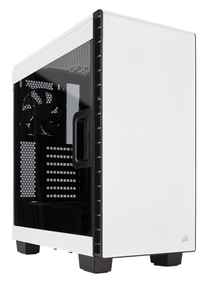 Case Corsair Carbide Series Clear 400C White Compact Mid Tower (CC-9011095-WW) _1118KT