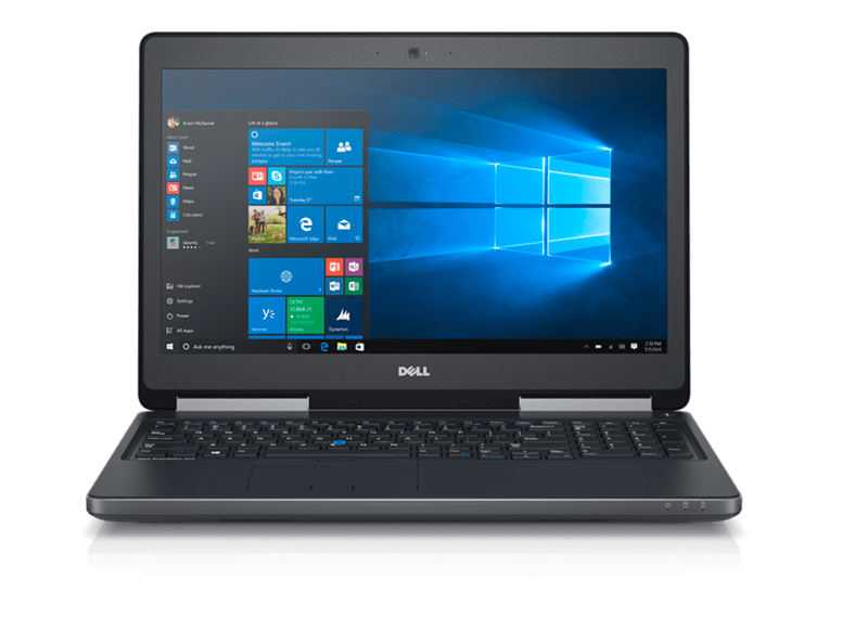 Dell Precision M3510 (70085484) Intel® Core™ i5 _6300HQ _8GB _1TB SSD _FirePro W5130M w/2GB GDDR5 _Win 10 Pro _5417F