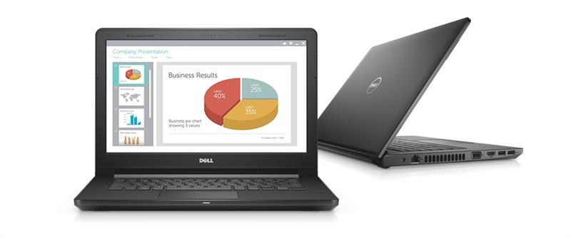 Dell Vostro 3468 (70159379) Intel® Kaby Lake Core™ i3 _7020U _4GB _1TB _VGA INTEL _Finger _718F