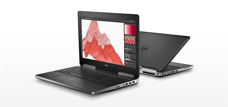 Dell Precision M7520 i7 7700HQ - 8GB - 256GB SSD - Quadro M1200 4GB - FULL HD - Outlet