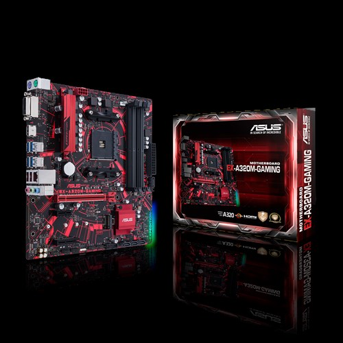 Motherboard Asus EX A320M Gaming AMD Ryzen™ Socket AM4 (EX A320M Gaming) 518EL