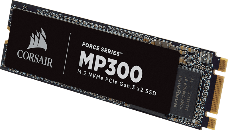 SSD Corsair F960GBMP300 Force Series MP300 960GB NVMe PCIe M.2 _818KT