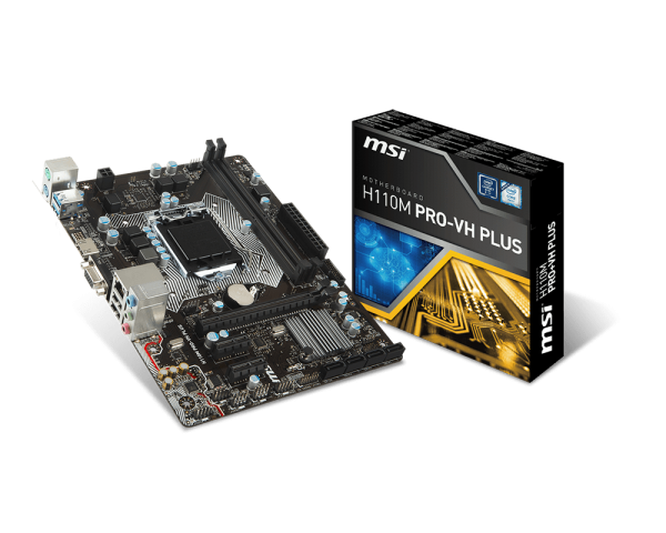 Mainboard MSI H110M PRO-VH PLUS Socket LGA1151 (518ELF)
