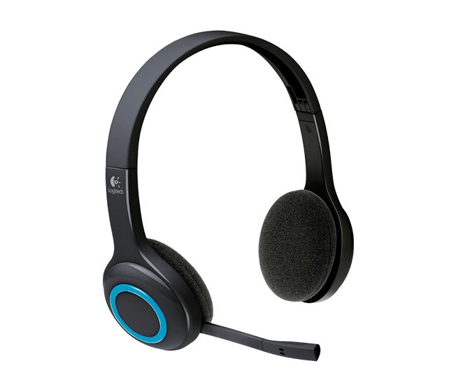 Logitech Wireless Headset H600 Over-The-Head Design (981-000504)