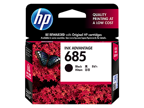 HP 685 Cyan Ink Cartridge (CZ122AA) EL