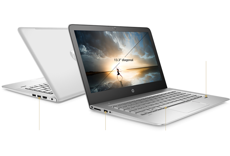 HP Envy 13 ad074TU (2LR92PA) Intel® Kaby Lake Core™ i7 _7500U _8GB _256GB SSD _VGA INTEL _Full HD IPS _Win 10 _8817D