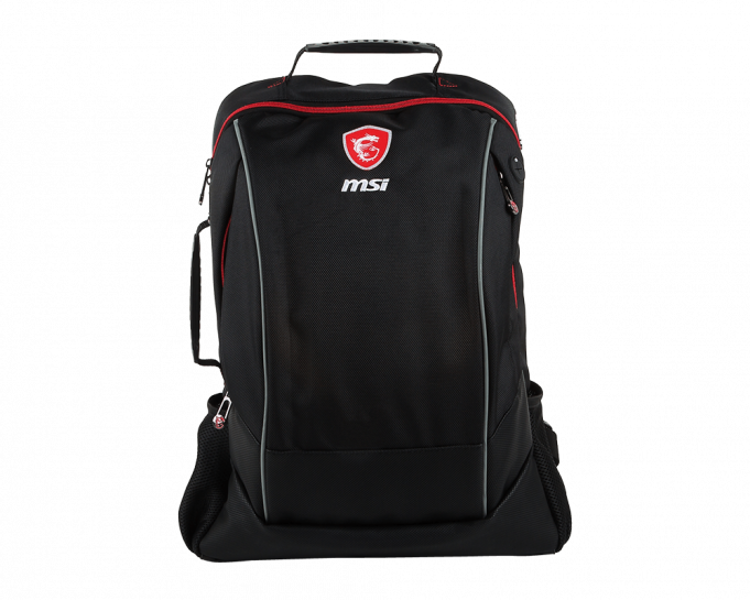 Balo Gaming MSI Hecate Gaming Backpack for 15 - 17 inch Laptop - Black