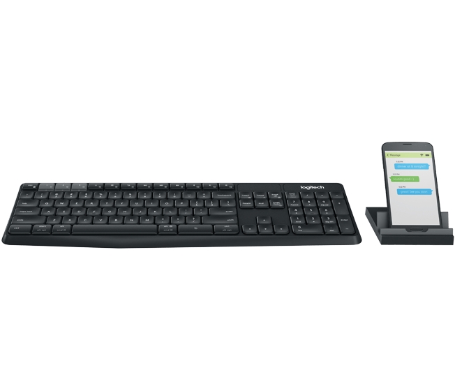 Logitech K375s Multi-Device Wireless Keyboard & Stand Combo (920-008250) _518D