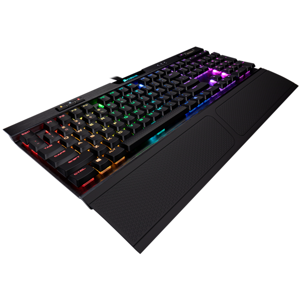 Gaming Keyboard K70 RGB MK.2 Low Profile RAPIDFIRE Mechanical — CHERRY® MX Low Profile Speed (9109018) _919KT