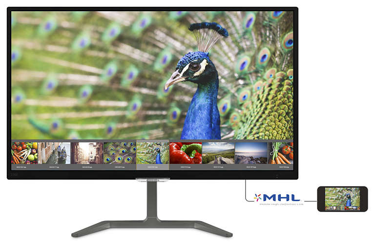 Màn Hình - LCD Philips 276E7QDSB/00 _27 inch Full HD IPS (1920 x 1080) LED Anti Glare _VGA _HDMI _DVI-D _1119D