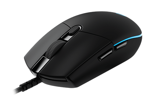 Logitech G Pro USB Optical Gaming Mouse Black (910-005127)