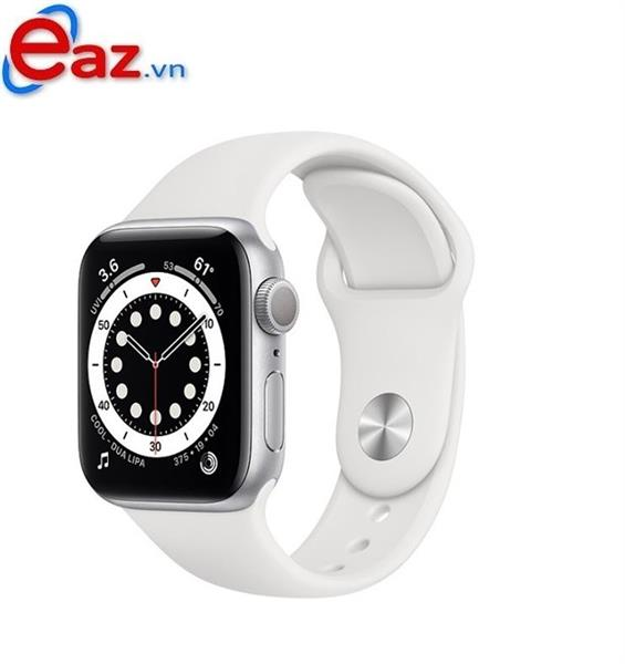 Apple Watch Series 6 GPS 44mm M00D3VN/A Silver Aluminium Case with White Sport Band | 1120D