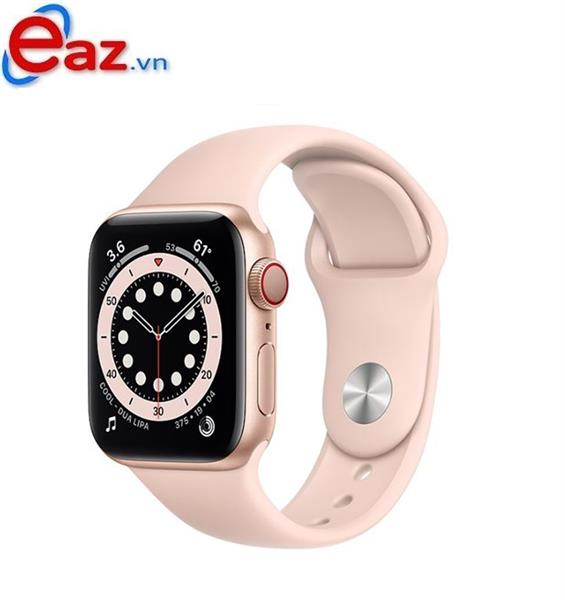 Apple Watch Series 6 GPS + Cellular 40mm M06N3VN/A Gold Aluminium Case with Pink Sand Sport Band | 1120D