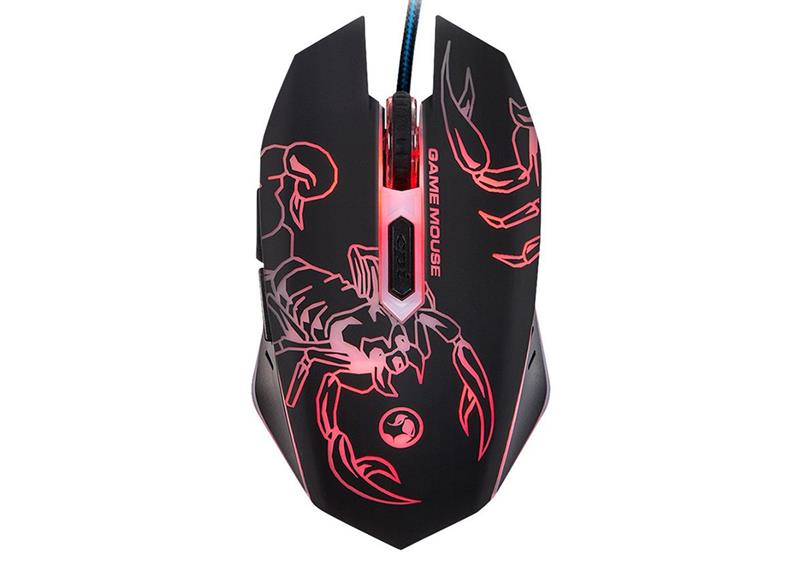 Mouse Marvo Scorpion M316 RGB Backlighted Born For Gaming DPI 2400