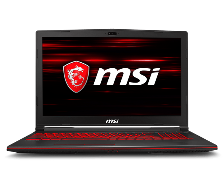 MSI GL63 8RC 266VN Intel® Core™ i5 _8300HQ _8GB _128GB SSD _1TB _GeForce® GTX1050 with 4GB GDDR5 _Win 10 _Full HD _LED KEY