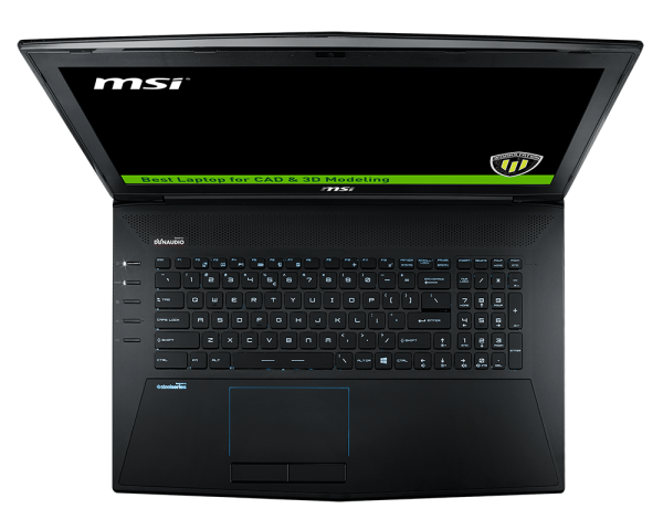 "MSI Workstation WT72 6QL - Intel E3-1505M - 32GB_256GB SSD_1TB 7k2_Quado M4000M 4GB_17.3"" FHD"