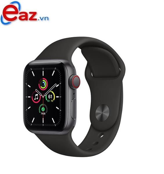 Apple Watch SE GPS + Cellular 44mm MYF02VN/A Space Gray Aluminium Case with Black Sport Band | 1120D