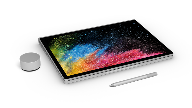 "Microsoft Surface Book 2 HMU-00001 | Core i5-7300U | 8GB RAM | 128GB SSD | 13.5"" Touch 10 Point (3000x2000)"